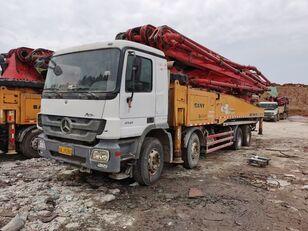 автобетононасос SANY 2012 56m on BENZ-4141