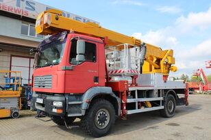 автовышка MAN TGM 18.330 4x4 35m Multitel J335 ALU/EX