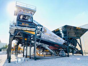 новый бетонный завод Fabo TURBOMİX 120 NEW DESIGN MOBILE CONCRETE BATCHING PLANT IN ALL CA