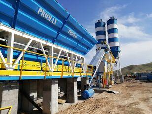 новый бетонный завод PROMAX Impianto di betonaggio compatto PROMAX C100-TWN-LINE (100m³ / h)