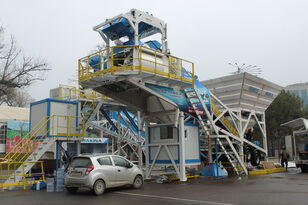 новый бетонный завод PROMAX محطة خلط الخرسانة المتنقلة PROMAX M100-TWN (100m / h)