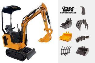 новый мини-экскаватор BERGER KRAUS Mini Excavator BK800B with FULL equipment