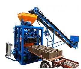 новое оборудование для производства бетонных блоков SINOWAY QT4-24